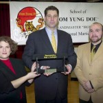 Boston Representative Peter Koutoujian Honorary Black Belt